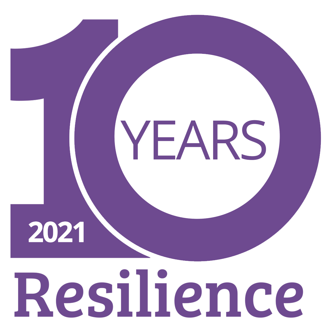 Resilience 10 years logo